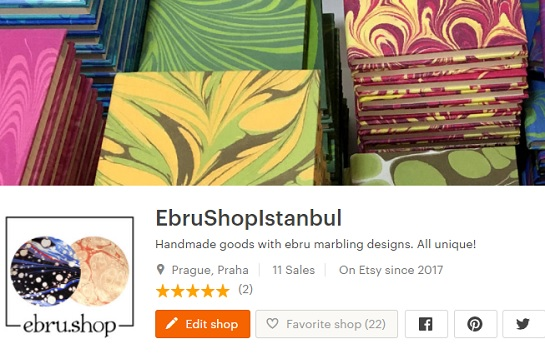 openning of etsy shop