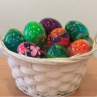 Marbled Easter Eggs Tutorial